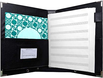 NEW Pro Tec F2BK Deluxe Sheet Music Folder FREE SHIPPING