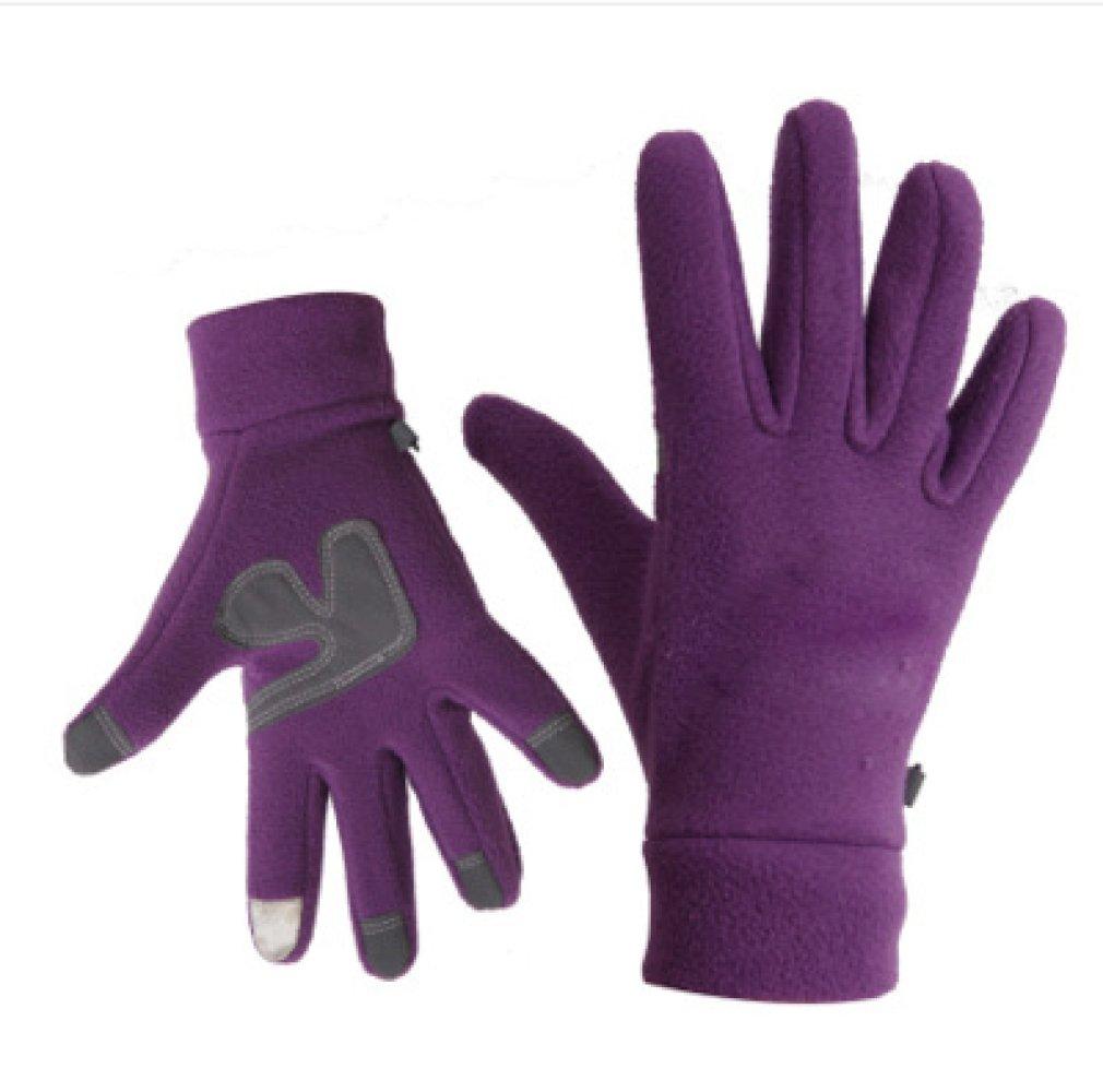 TAO Warme Handschuhe Der Herbst die Handschuhe Antreiben und Winterhandschuhe im Freien Verdickte die Kalte Frau Der Weiblichen Reitm/änner Plus die Samtfleece-Liebhaber