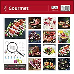 Food Calendar 2020 Gourmet Wall Calendar   Calendars 2019   2020 Wall Calendar   Food