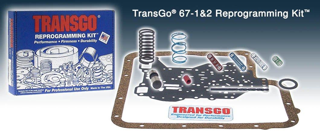 C6 Transgo Reprogramming Shift Kit Extreme Performance 67-1&2 HD 1967 - Up Gas