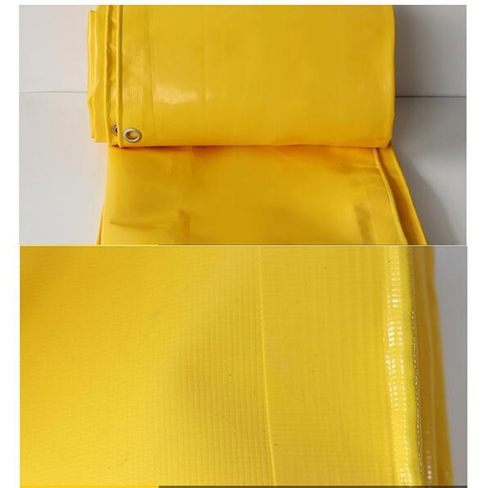 ATR Zelt Tarps Plane Plane Plane wasserdichtes Heavy Duty -gelbe Plane Blatt -Premium Qualität Abdeckplane 0,05 mm -500g   m \u0026 sup2; 22 Größen für den Außenbereich B07Q4QJ3HG Zeltplanen Starke Hitze- und HitzeBesteändigkeit 2563d7