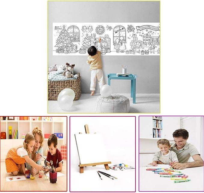 Arabe numero para colorear para niños con 6 lápices de colores ...