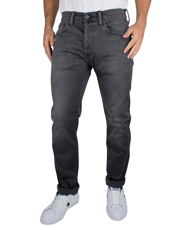 Edwin Herren ED-55 Regular Jeans in Karottenform, Grau