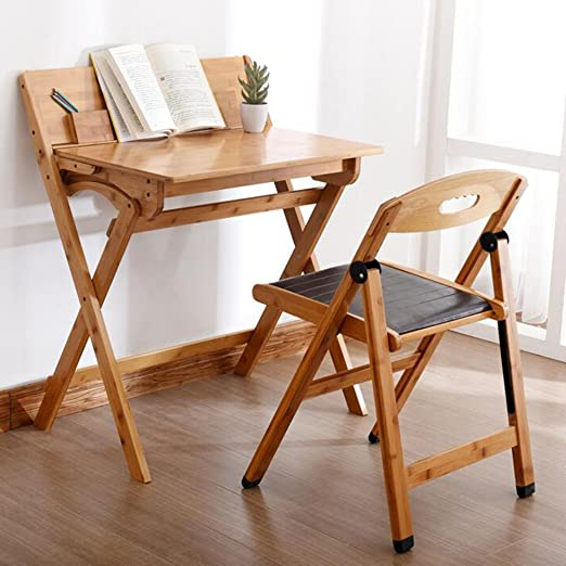 Mesas CJC Escritorio Taburetes Silla Plegable Bambú Moderno Ocio ...