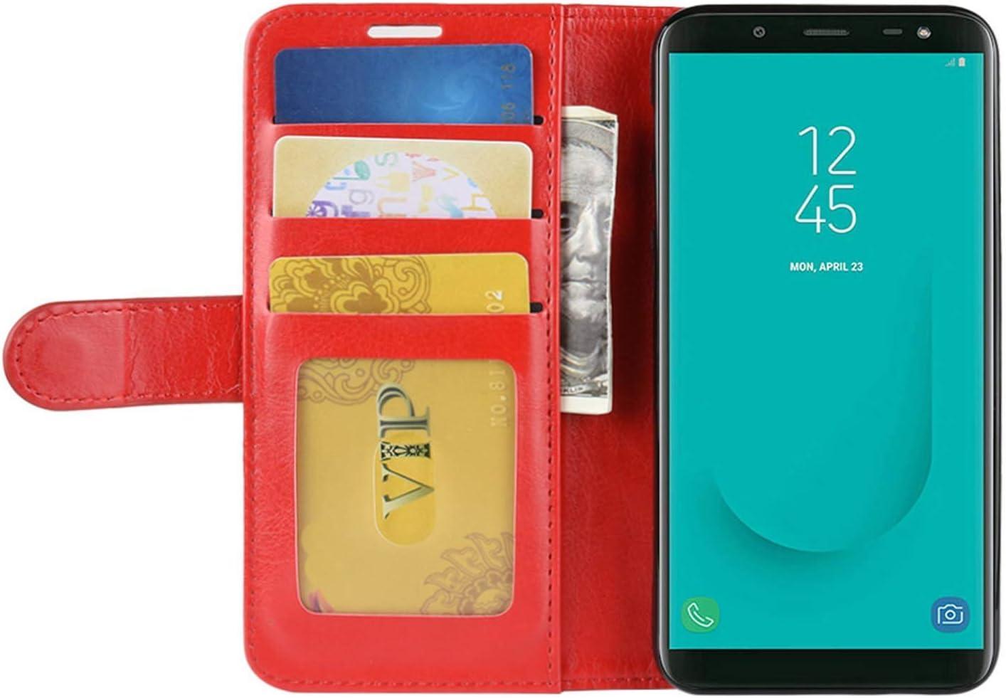HualuBro Funda Essential Phone, Retro PU Cuero Leather Billetera ...