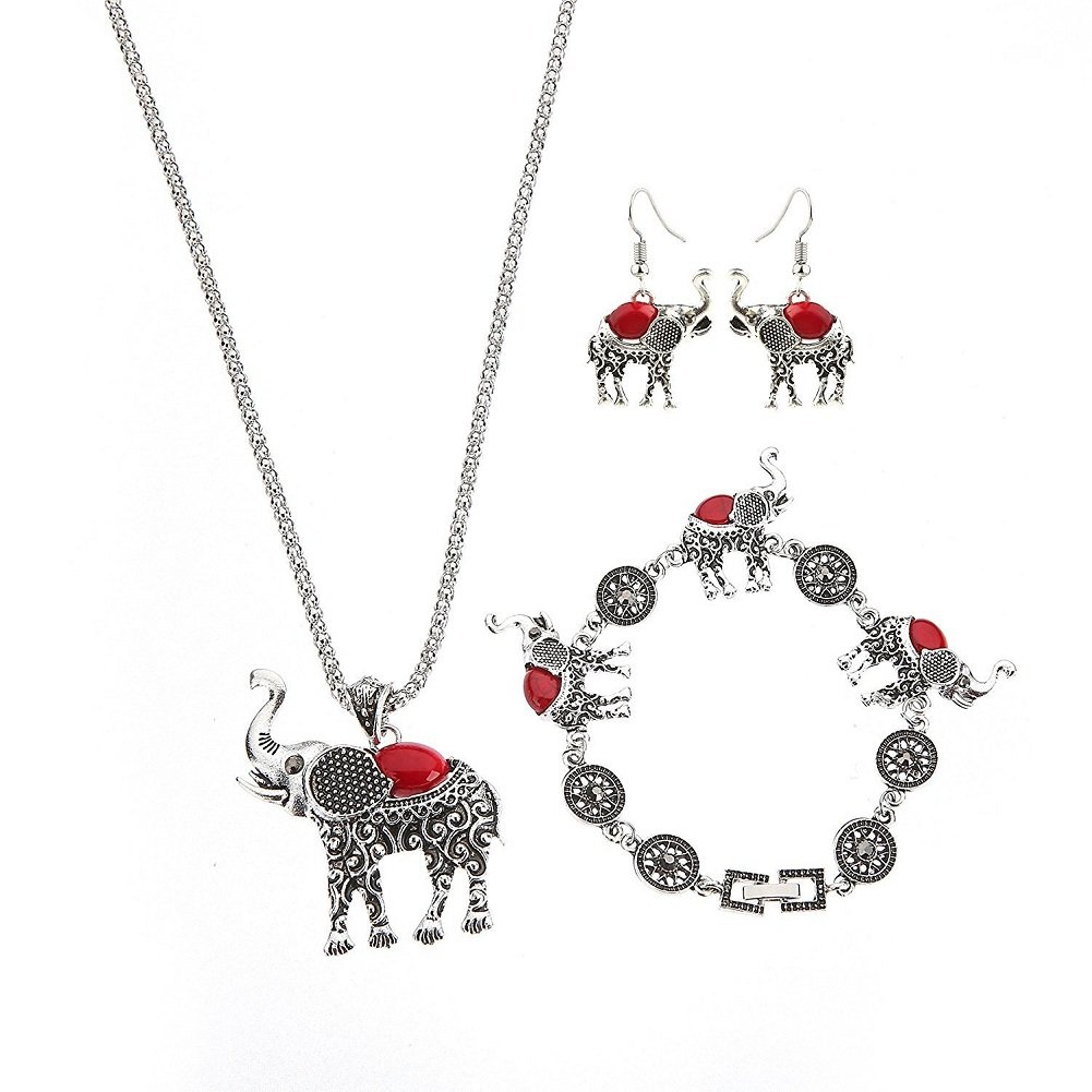 National Style Elephant Jewelr...