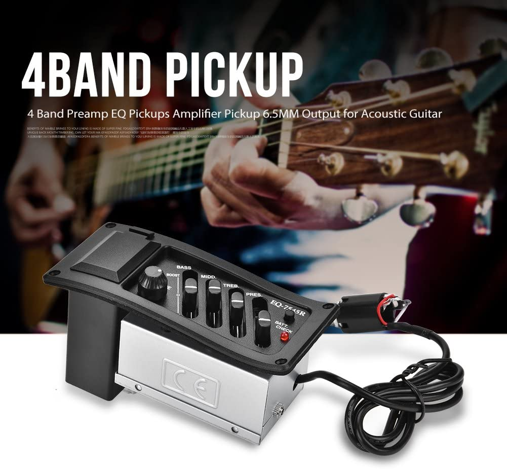 LOW BATTERY INDICATORS FOR GUITAR /& BASS w// ACTIVE PICKUPS /& ELECTRONICS 3-pack
