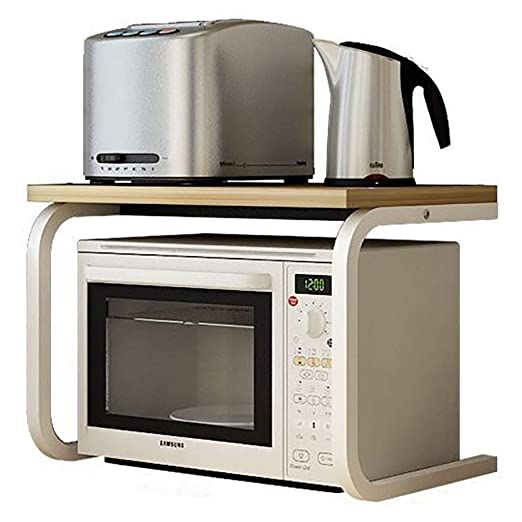 YJLGRYF Soporte de rejilla de horno de microondas de 2 ...
