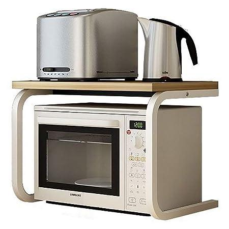 RMJAI Soporte de rejilla de horno de microondas de 2 niveles ...