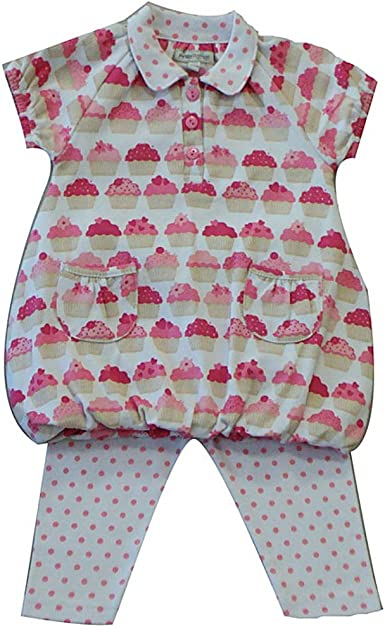 Exterior y polaina bebé niña 3 – 18 meses Algodón Super Soft 2 ...