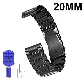 N. Oranie Sangle de bracelet de montre 2ème génération Moto 360 16 mm/20 mm/22 ...