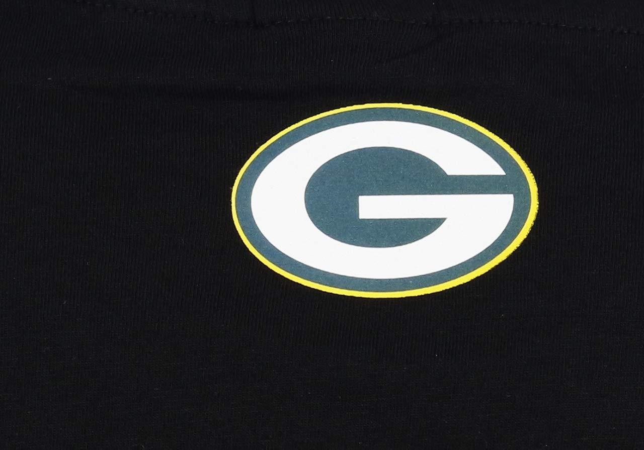Fanatics Flexfit Green Bay Packers T Shirt Cut and Sew