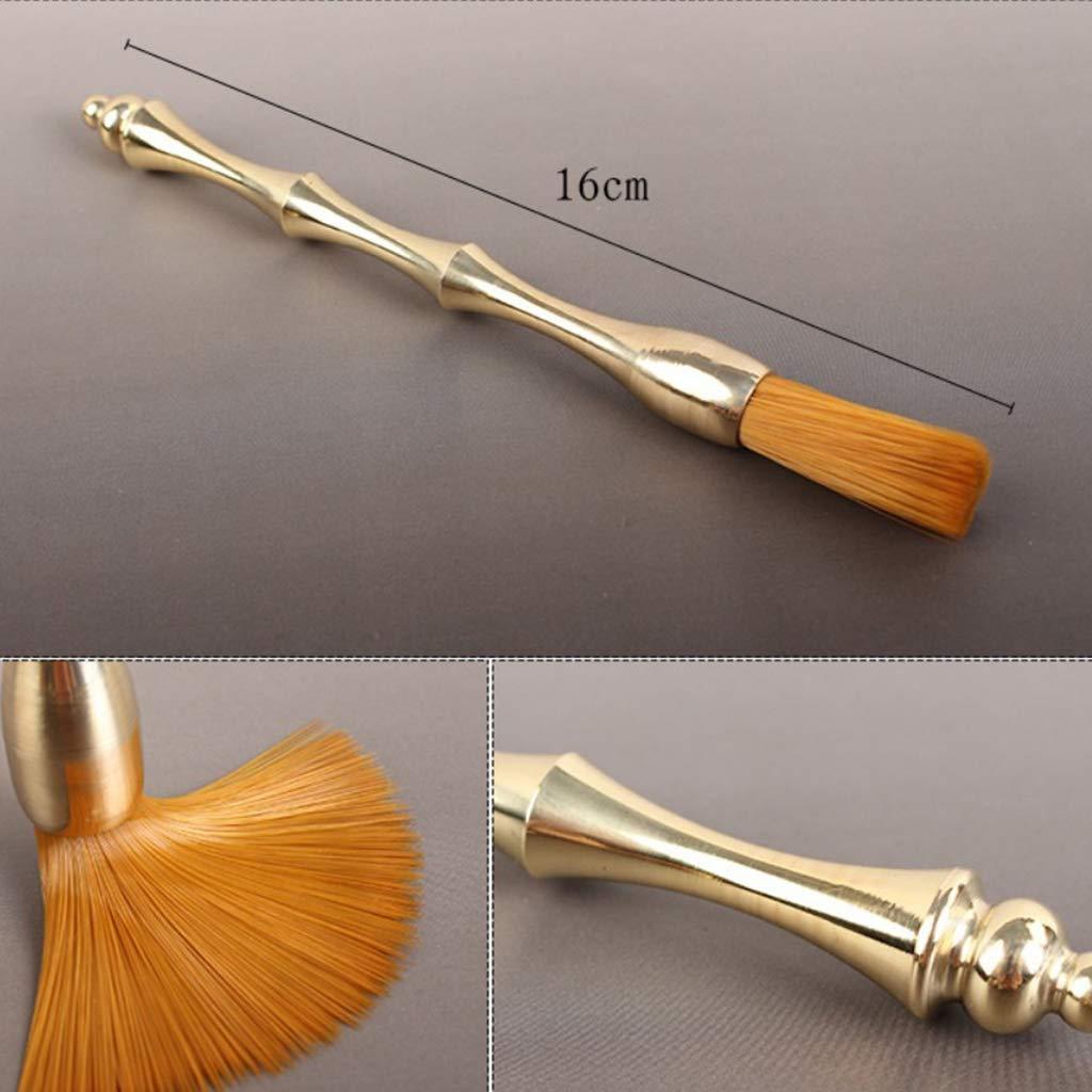 B Blesiya 6 Pieces Copper Tea Utensils Chinese Gongfu Tea Set Tools for Tea Ceremony by B Blesiya (Image #8)