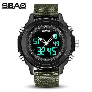 Amh de SBAO S de 9000 multifunción estilo completo saludable Lifestyle Reloj Deportivo, hombre Teen