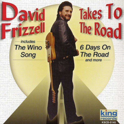 CD : David Frizzell - Takes To The Road (CD)
