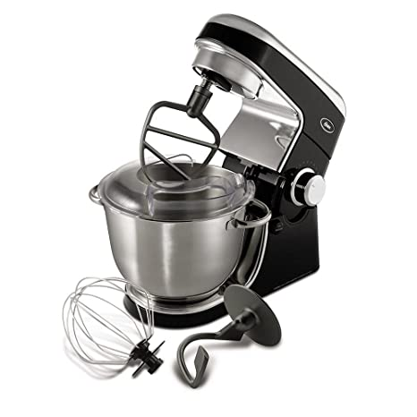 OSTER FPSTSMPL1 Planetary Stand Mixer, Black, 4.5 qt