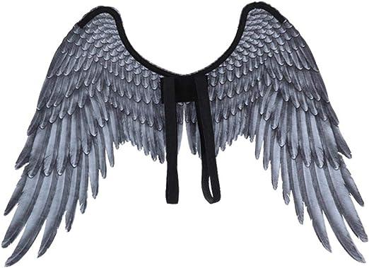 Greatideal Pluma Alas de ángel Accesorio de Disfraces de Halloween ...