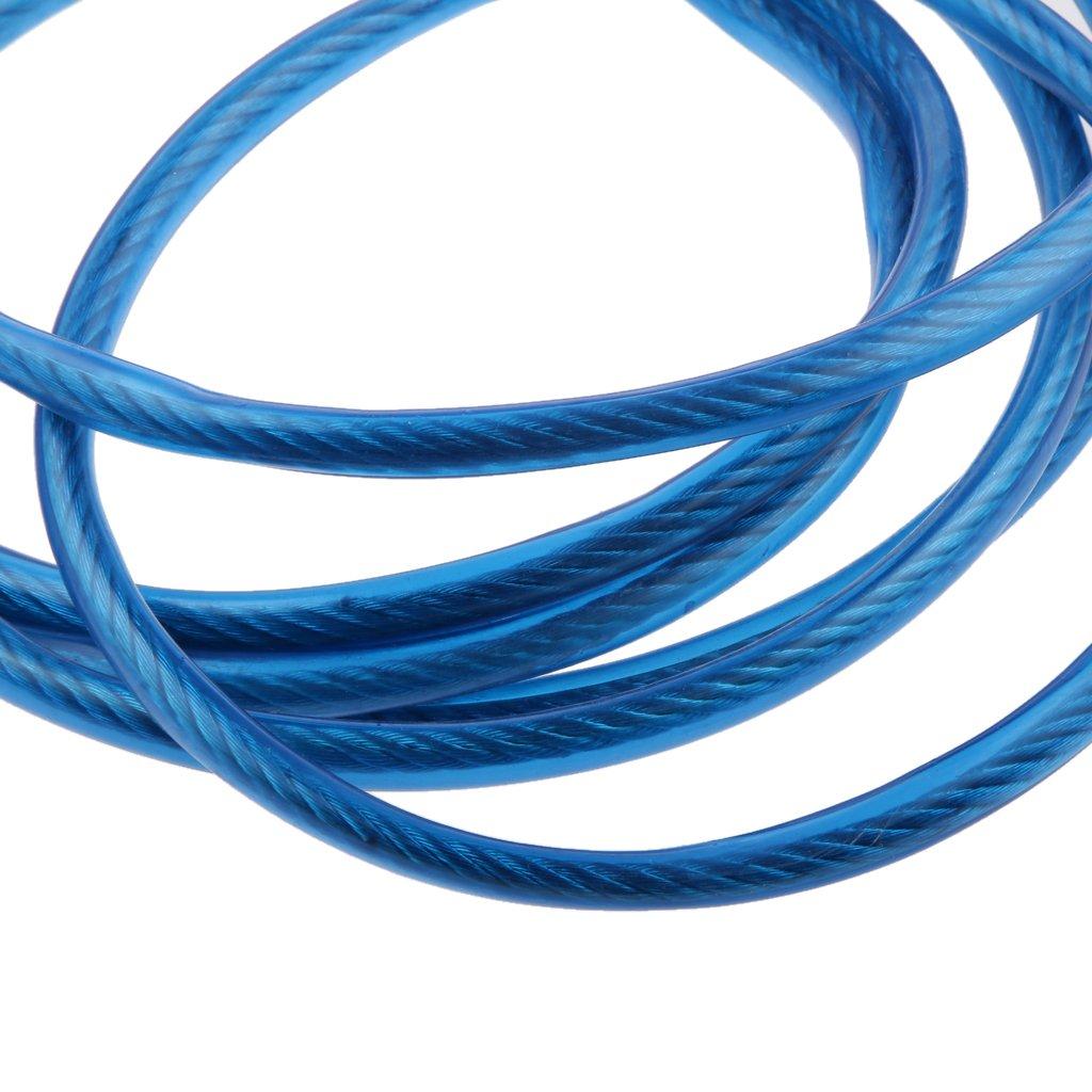MagiDeal C/âble Voiture Corde De Remorquage 4m Sangle Robuste Traction Corde Crochets 3 Tonnes