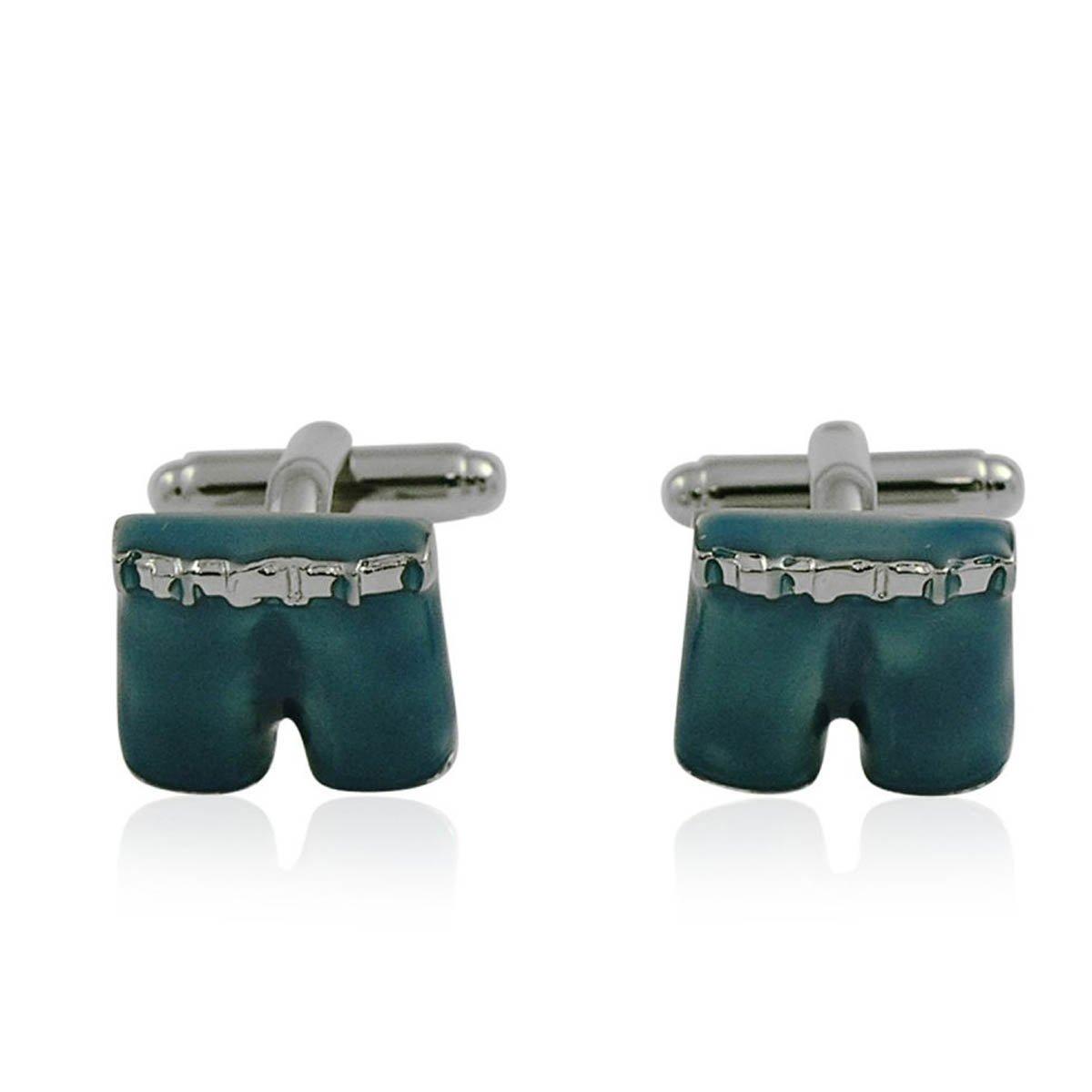 Blue Shorts Cufflinks