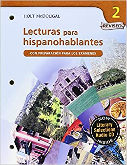 Lecturas para hispanohablantes (Student) with Audio CD Level 2 (Spanish Edition) (9780618802302): MCDOUGAL LITTEL: Books