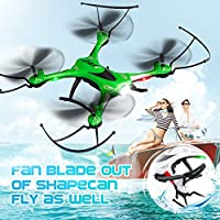 ECLEAR Mini Foldable RC Drone RTF 720P HD Camera 2.4Ghz 6-Axis Gyro Remote Control Quadcopter Toys for Adults Kids