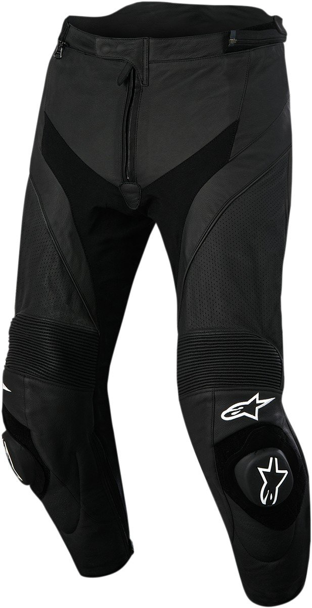Alpinestars Missile V2 Airflow Leather Pants (50 SHORT) (BLACK)