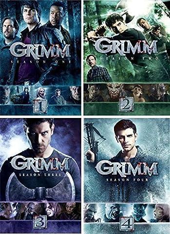 Grimm : Complete Seasons 1 - 4 Collection (20-Disc, DVD, 2015) (Grimm Dvd Season 4)