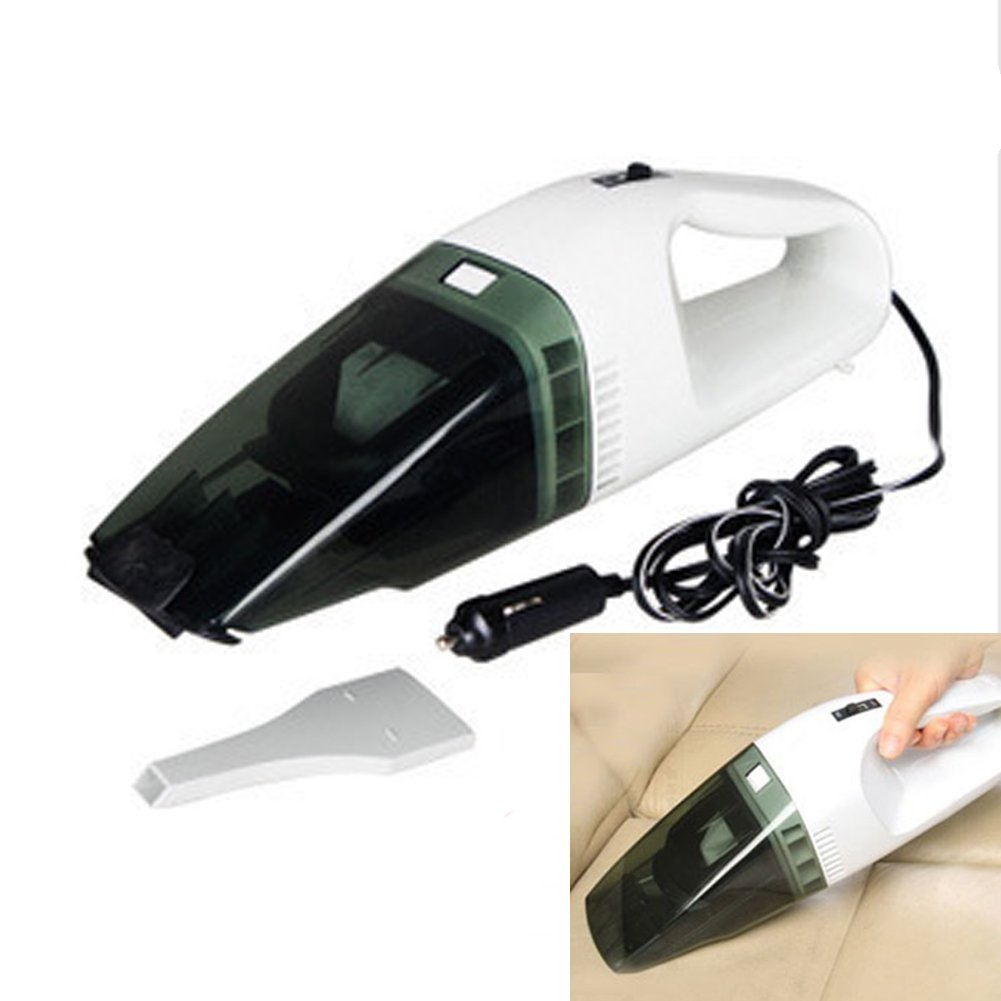 YYGIFT Portable Wet Dry DC12V Vacuum Cleaner for Car Handled Vacuum Cleaner Dust Catcher