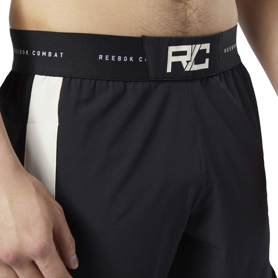 Reebok Combat Boxing Shorts 34 Black