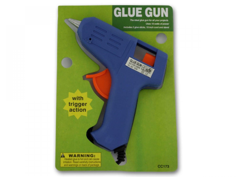 Trigger Action Hot Glue Gun With Glue Sticks - Set of 96, [Crafts, Craft Tools]