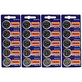 Sony CR2032 Lithium Coin Cell 3V 20 Pcs