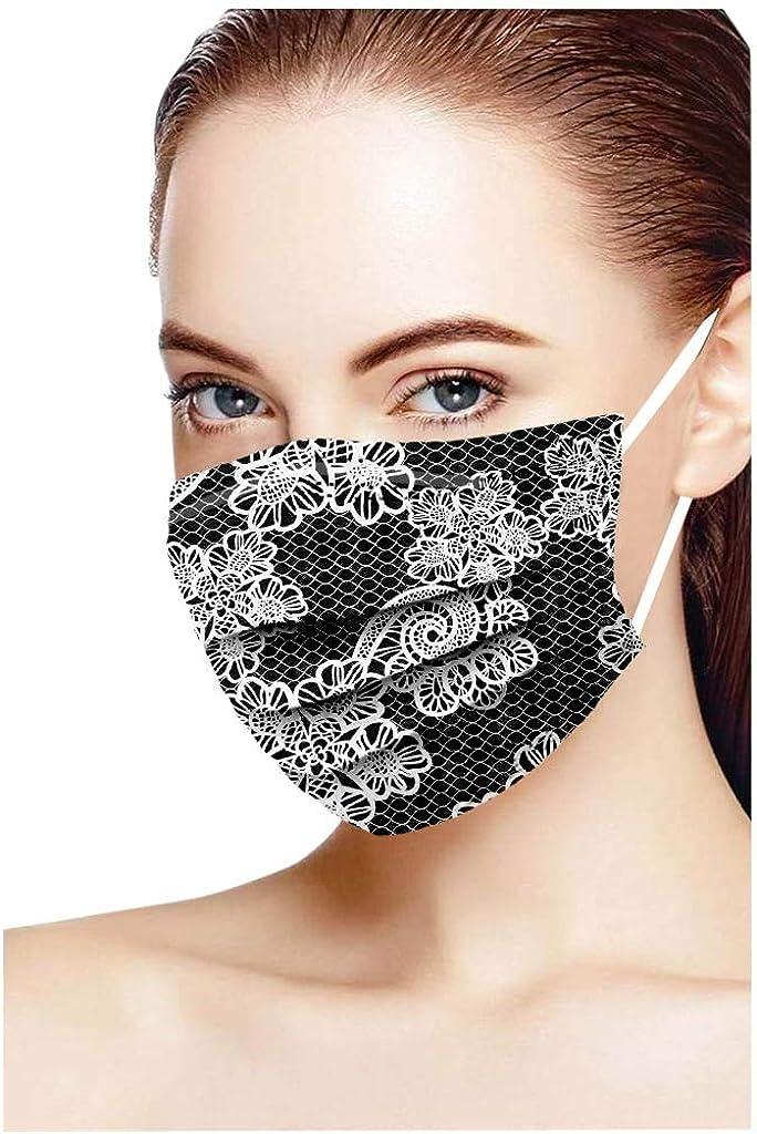 Face/_Schlauchtuch Gesicht Bandana Bunt Multifunktionstoff mit Elastisch Ohrband Half Schals Mund und Nasens/_chutz FIRSS Einmal-Kopftuch Atmungsaktiv Weich 3-lagig Pro-tect
