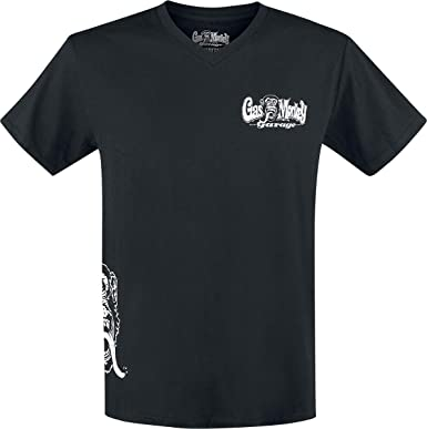 Gas Monkey Garage T-Shirt Side Monkey  Amazon.it  Abbigliamento 5ff96b9ee2