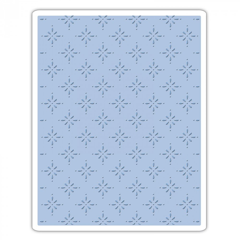 Sizzix 661611 Texture Fades Embossing Folder, Star Bright by Tim Holtz Ellison