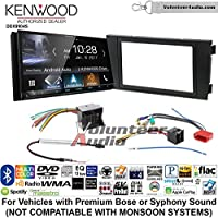 Volunteer Audio Kenwood DDX9904S Double Din Radio Install Kit with Apple CarPlay Android Auto Bluetooth Fits 2000-2008 Audi A6