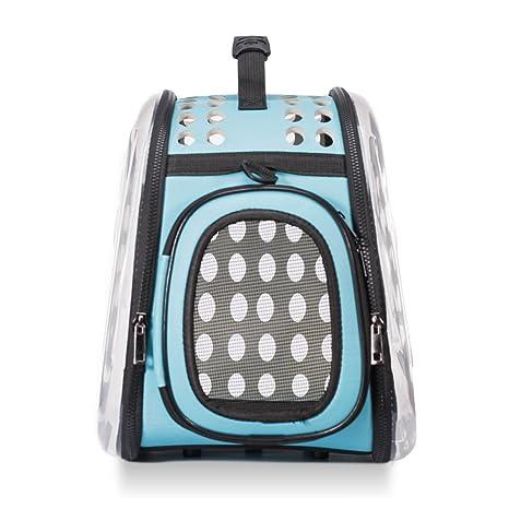 iHOY Transparent Pet Carrier Bag, Portable Pet Carrier Bolso de mano transpirable Pet Travel Handbag