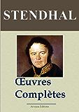 Stendhal : Oeuvres complètes (141 titres annotés et illustrés) (French Edition)