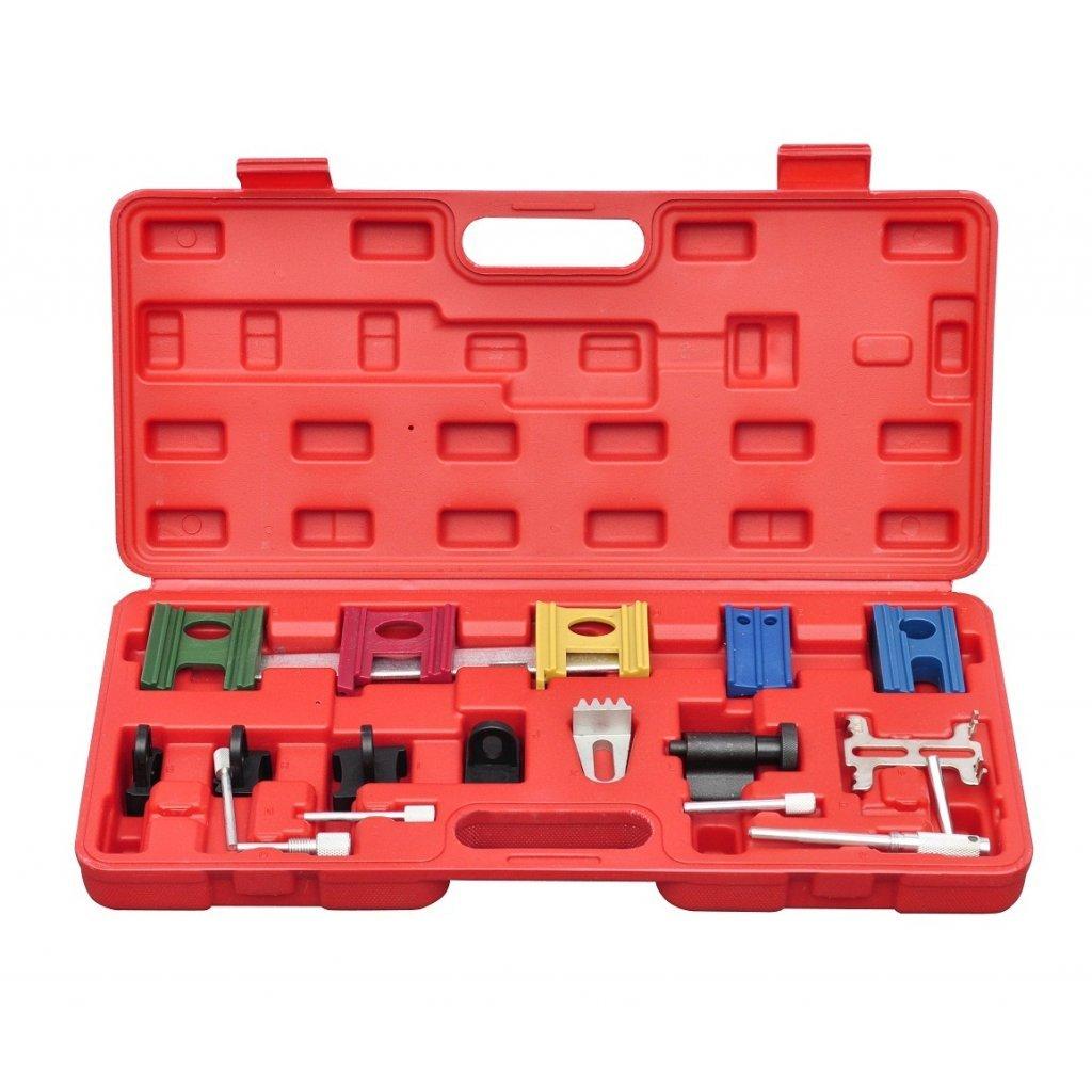 Festnight 19 pcs Engine Universal Timing Locking Car Tool Engine Timing Adjustment Locking Tool Kit