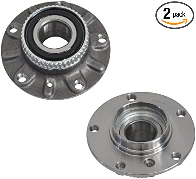 PAIR FRONT Wheel Hub Bearing Assembly For 2001-2005 BMW 325I