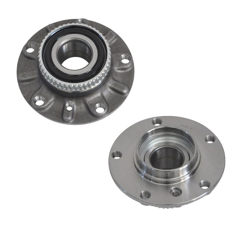 DRIVESTAR 513125x2 Pair 2 Brand New Front Wheel Hub & Bearing fit BMW E31 E32 E34 E36 Z3 Z4