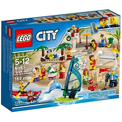 City Town People Pack - Fun at the Beach - 60153 - 169 Pcs. - By LEGO: Toys & Games