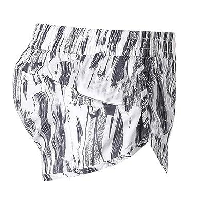 LMRYJQ Pantalones Cortos Deportivos para Mujeres ...