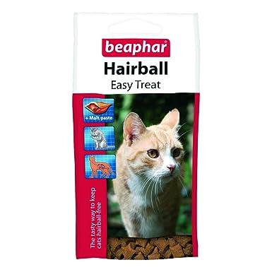 Beaphar - Snacks disuasorios de bolas de pelos para gatos (Talla Única/Variado)