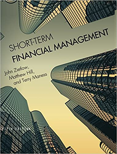 Amazon short term financial management 9781516512409 john short term financial management fifth edition fandeluxe
