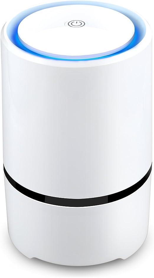 AFBEST Purificador de Aire con filtros True HEPA y Active Carbon ...