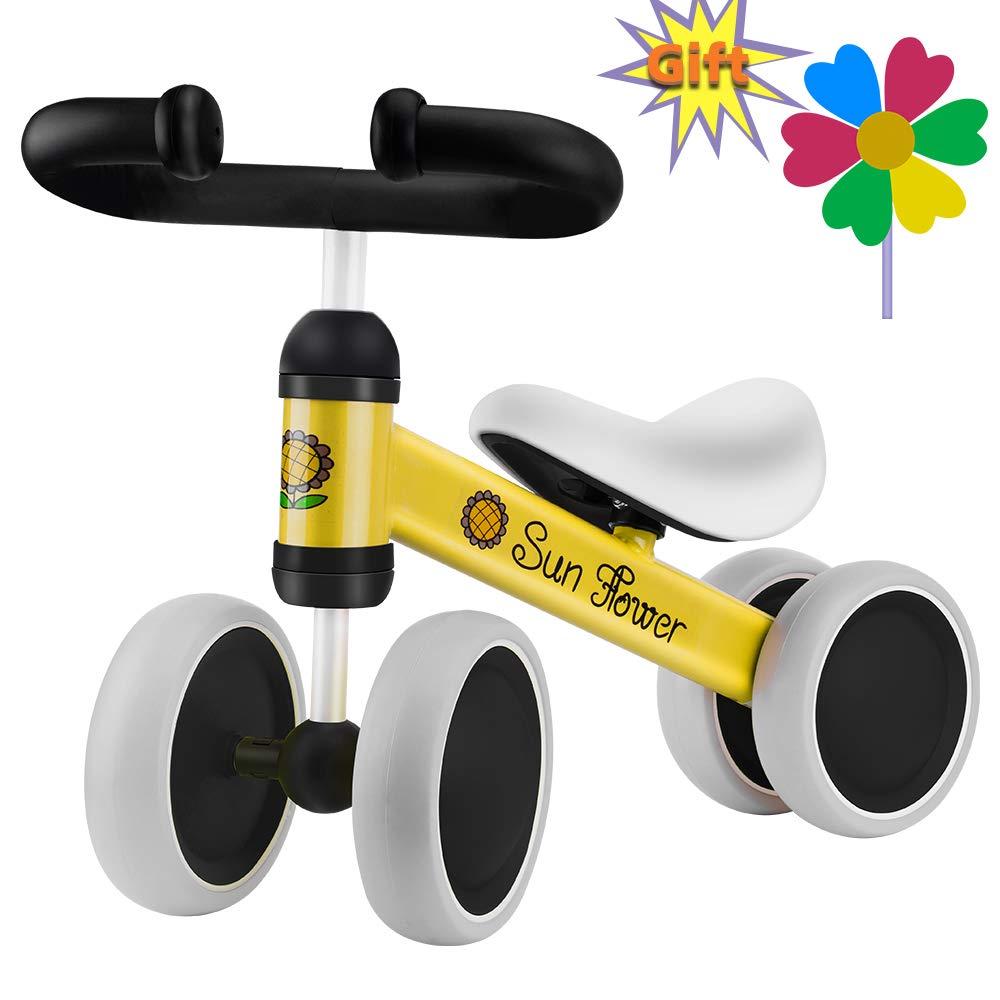 Verkstar Baby Balance Bike Infant Mini Bicycle Toddler Bike, No Foot Pedal 10-24 Months Walker Bike for Children's First Birthday Thanksgiving Gift(Green)