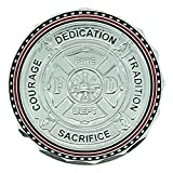 Maltese Cross Courage, Dedication, andFirefighter PrayerCoin-Pack of 12 Coins