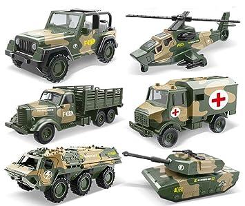 VSUK Vehículo Militar Juguetes Educativos para Niños ...