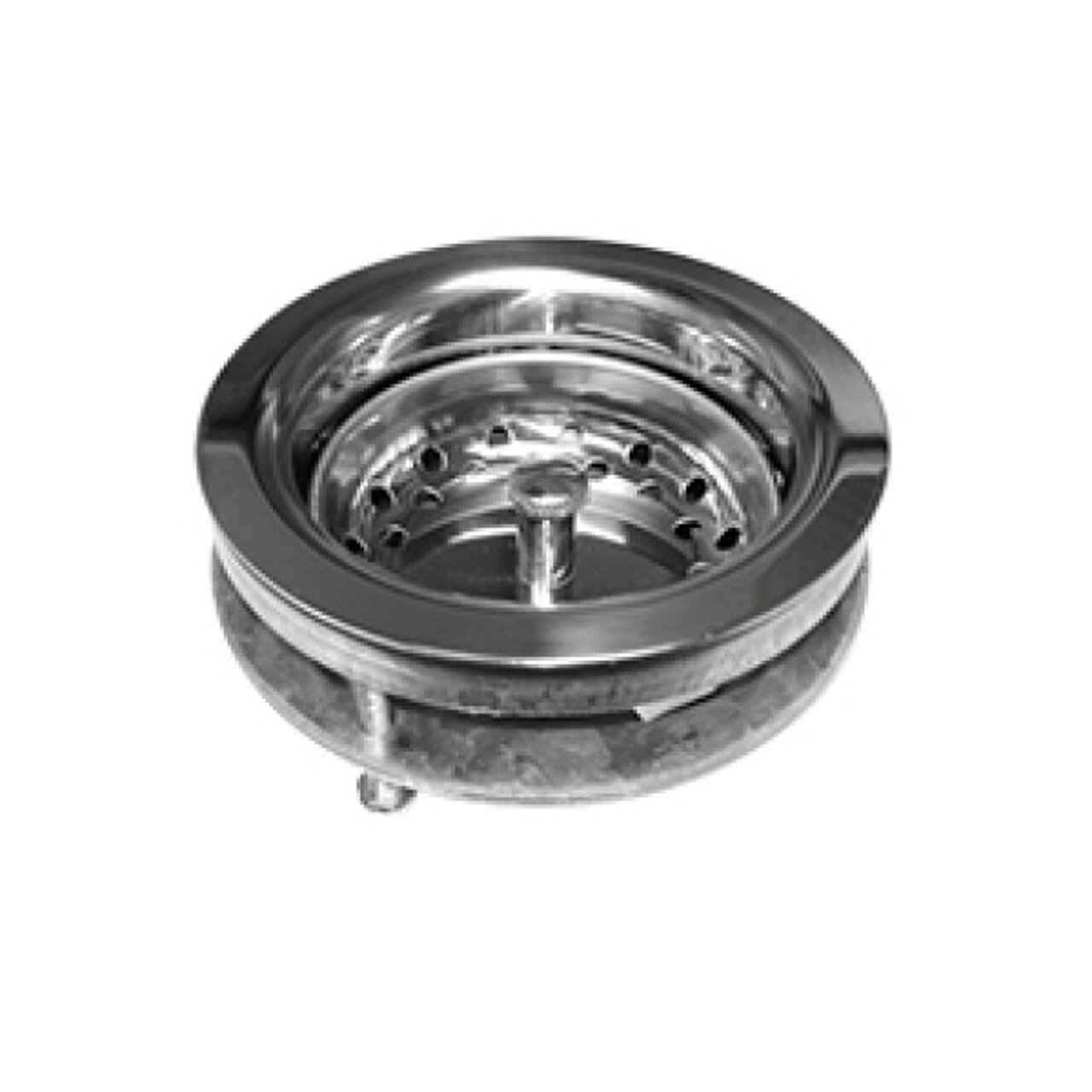 Pasco 21907 Ez-On Basket Strainer Polished Stainless Steel