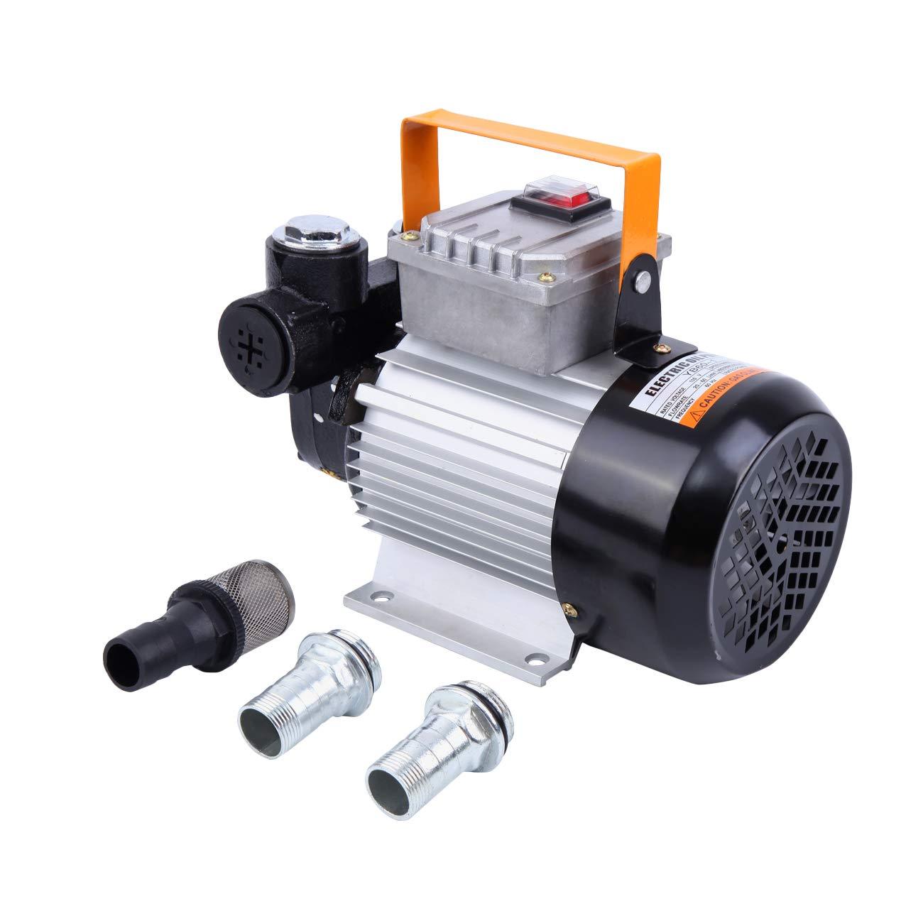 PanelTech Self Prime 16GPM Oil Transfer Pump Diesel Kerosene Biodiesel 550W Pumps 110V PanelTech ltd